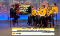 Marc Ashton Foundation for Blind Children Today Show
