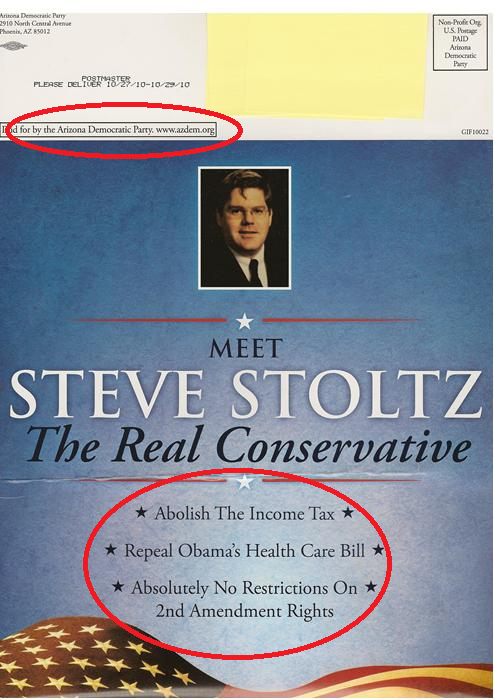 Libertarian brochure