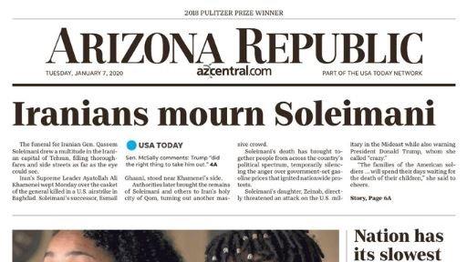 Republic Mourns Soleimani