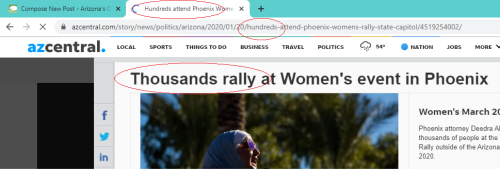 Republic Lies about Crowd Size
