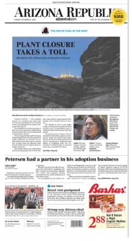 Oct 20 front page