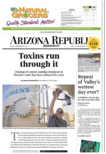 Bad front page