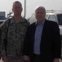 Jonathan Paton and Senator McCain